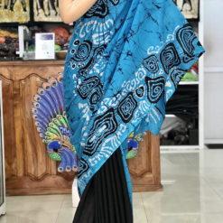 cotton batik saree 06