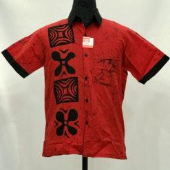 batik shirt 40
