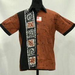 batik shirt 42