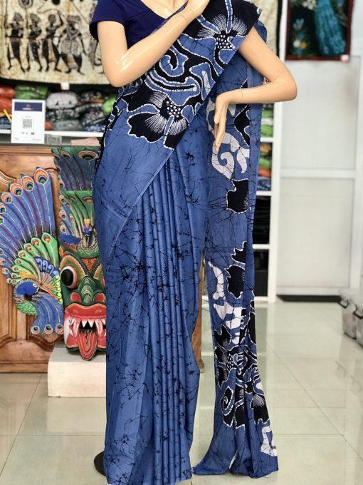 cotton batik saree 28