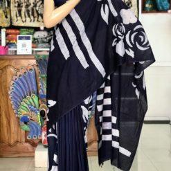cotton batik saree 09