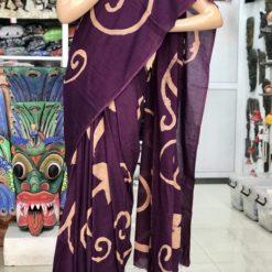 cotton batik saree 15