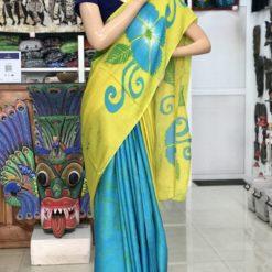 silk batik saree 04