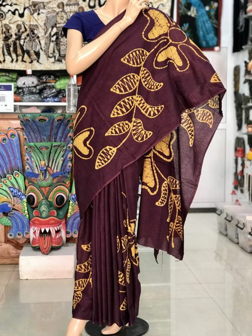 cotton batik saree 08