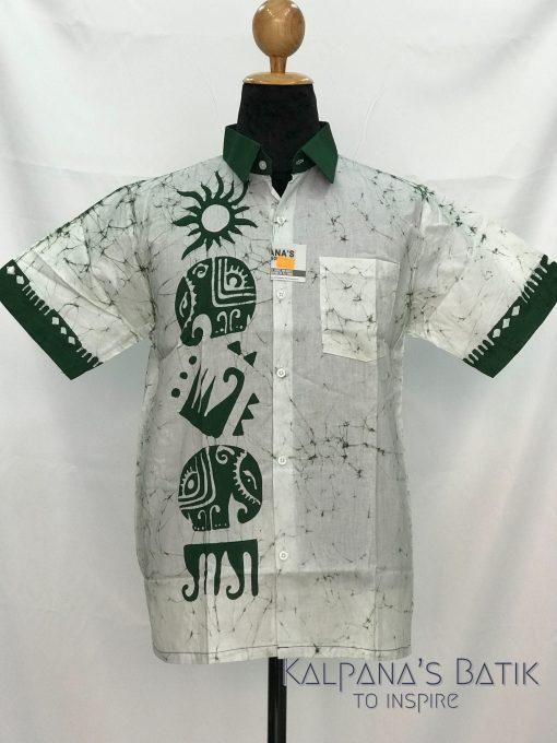 batik shirt 48