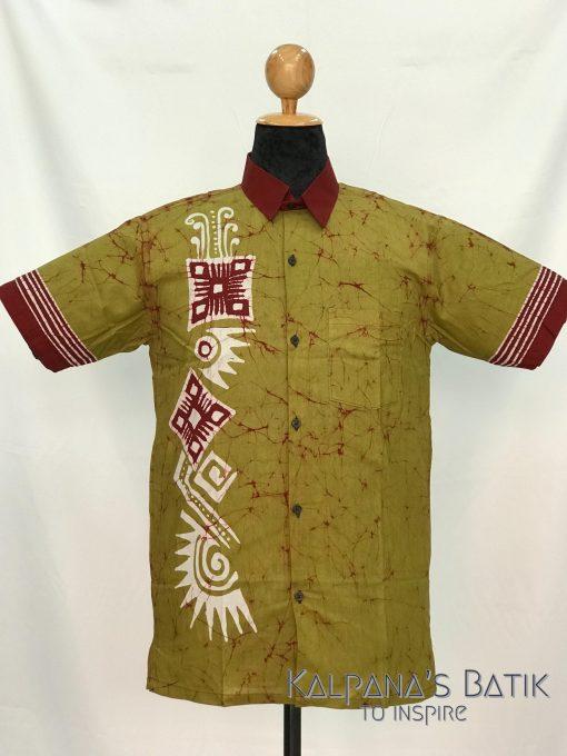 batik shirt 107