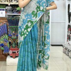 cotton batik saree 31