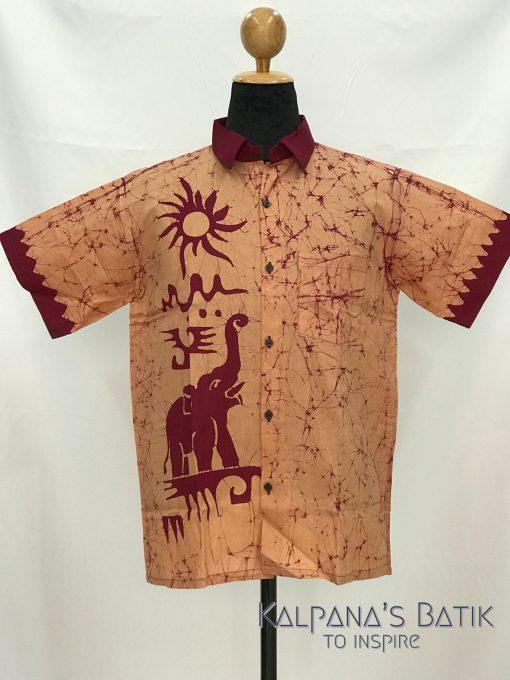 batik shirt 64