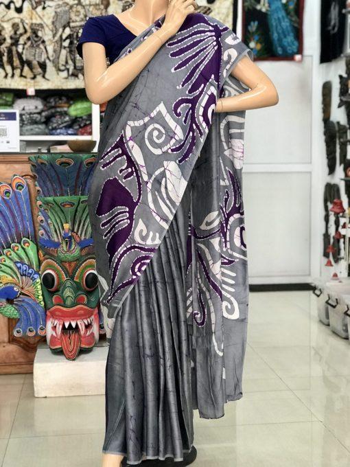 silk batik saree 02