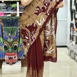cotton batik saree 37