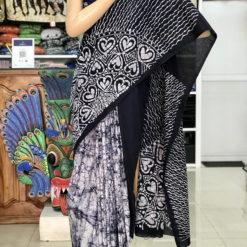 cotton batik saree 12