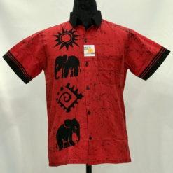 batik shirt 35