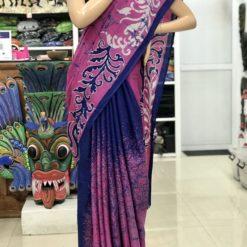 cotton batik saree 38