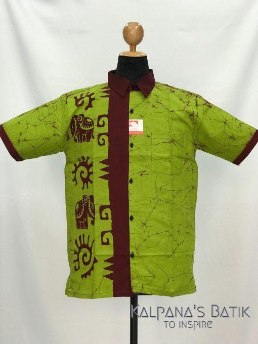 batik shirt 120