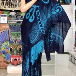 cotton batik saree 07