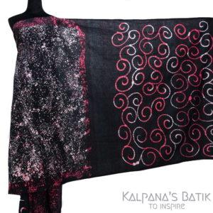 Cotton Batik Saree -84