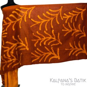 Cotton Batik Saree -86-1