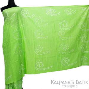 Cotton Batik Saree -88