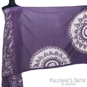 Cotton Batik Saree -89