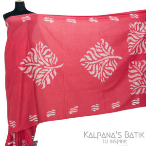 Cotton Batik Saree -90.1