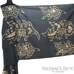 Cotton Batik Saree 92.1